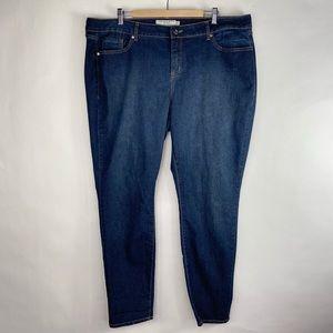 Torrid Blue Medium Wash Stretch  Zipper Jeans